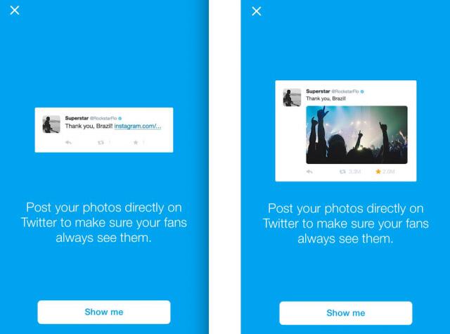 Twitter no quiere que enlacemos a Instagram en los mensajes que tuiteamos