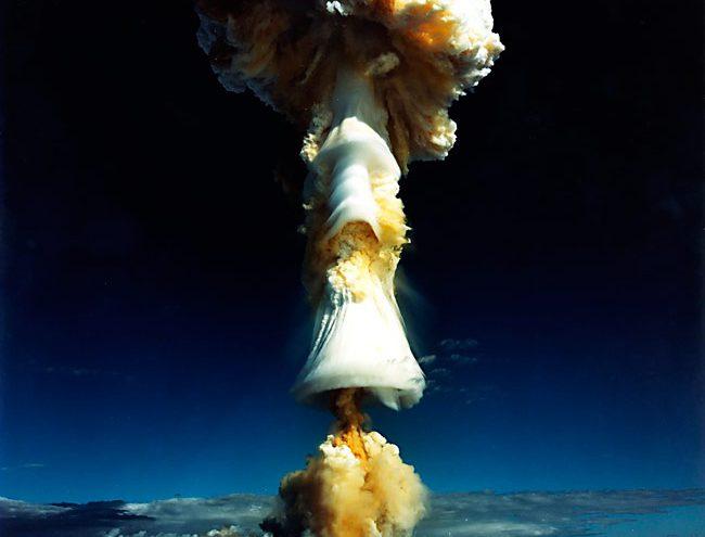 La terrible grandiosidad de un hongo atómico