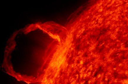 Las mejores imágenes captadas por el telescopio espacial Solar Dynamics Observatory