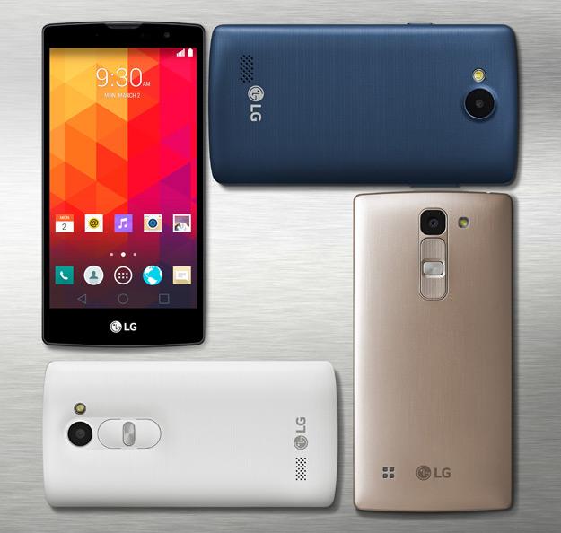 Magna, Spirit, Leon y Joy, los nuevos smartphones de gama media de LG
