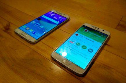 Estas son las últimas fotografías que han aparecido del Galaxy S6 y el Galaxy S6 Edge