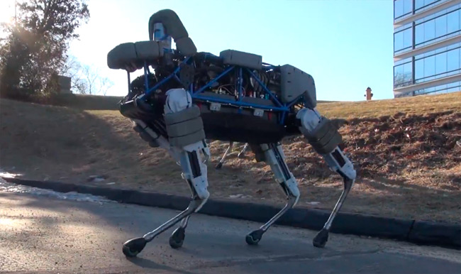 Spot, el último robot cuadrúpedo creado por Boston Dynamics