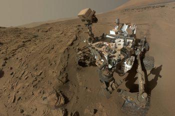 Curiosity encuentra por primera vez nitrógeno en las rocas de Marte
