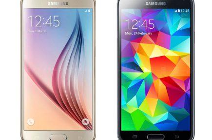 Comparativa: Samsung Galaxy S6 vs Galaxy S5