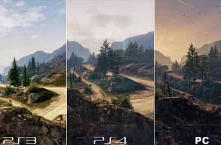 Comparativa gráfica de GTA V en PC, PS4 y PS3
