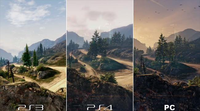 Comparativa gráfica de GTA V en PC, PS4 y PS3