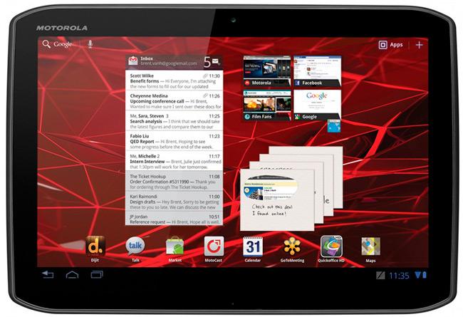 Motorola no va a lanzar ningún tablet a corto plazo
