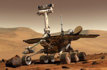 El vehículo de exploración espacial Opportunity completa una maratón en Marte