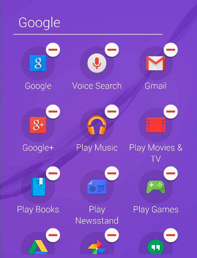 El Galaxy S6 y Galaxy S6 Edge permiten borrar o desabilitar la mayoría de apps preinstaladas