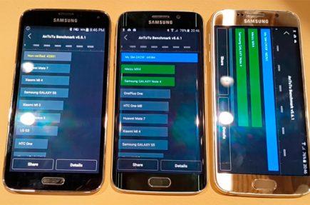 El Samsung Galaxy S6 destruye al HTC One M9 en los primeros benchmarks