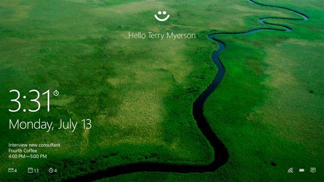 Windows Hello permite utilizar tu cara y huellas dactilares como contraseña