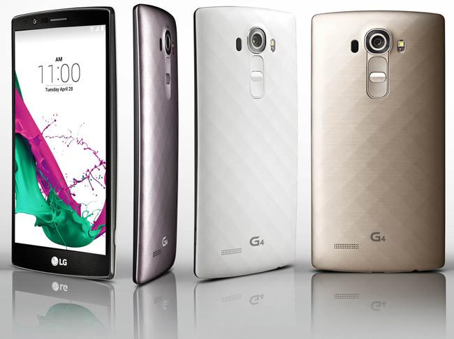 El LG G4 es oficial: pantalla de 5,5'', chip Snapdragon 808 y cámara de 16 megapíxeles