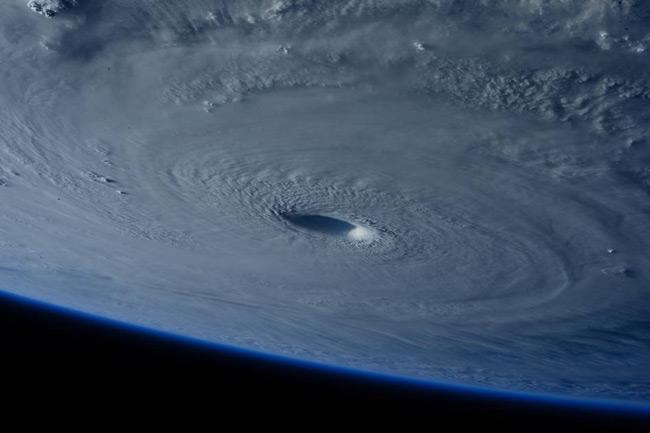 Increíbles imágenes del tifón Maysak visto desde el espacio
