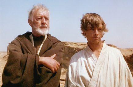 Esto es lo que pensaba Alec Guinness de la Guerra de las Galaxias durante el rodaje de la película