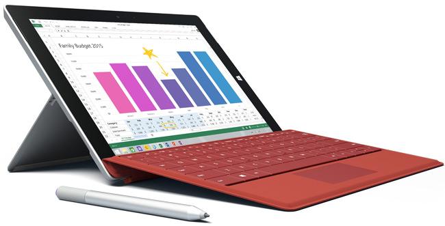 Microsoft presenta el nuevo Surface 3