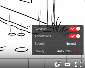 YouTube prueba un nuevo reproductor de vídeo con una barra de control transparente