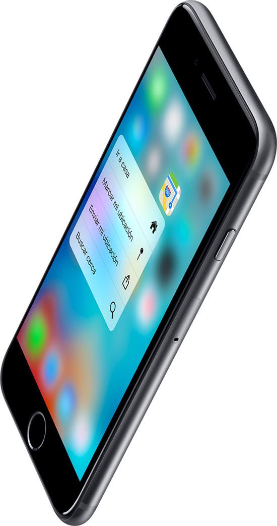 Nuevo iPhone 6s, ahora con tecnología 3D Touch