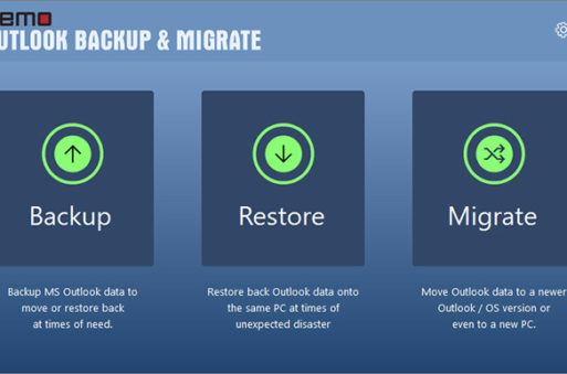 Realiza una copia de seguridad de tus correos con Outlook Backup & Migrate