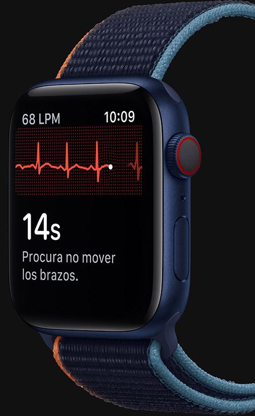 El nuevo Apple Watch Series 6 mide el nivel de oxígeno en sangre